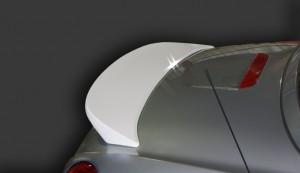 Spiegel (シュピーゲル) Artista ダイハツ コペン L880K FRP製 白ゲルリアウィング 装着画像